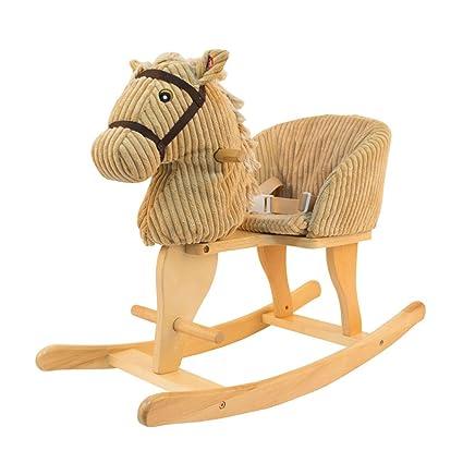 Caballitos de madera Caballo de Madera para niños Caballo Mecedora Silla para niños Silla Mecedora Dormitorio