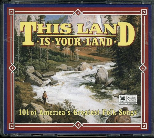- Reader's Digest 4 CD Set - This Land Is Your Land - 101 of America's Greatest Folk Songs