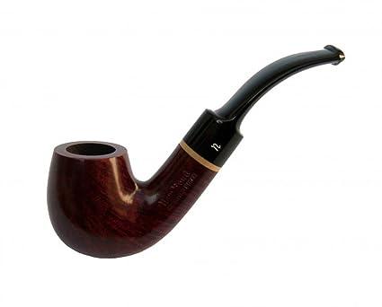 Pipa ENA Bent Apple de Bruken Valencia Raiz de Brezo Smoking Briar Pipe 125
