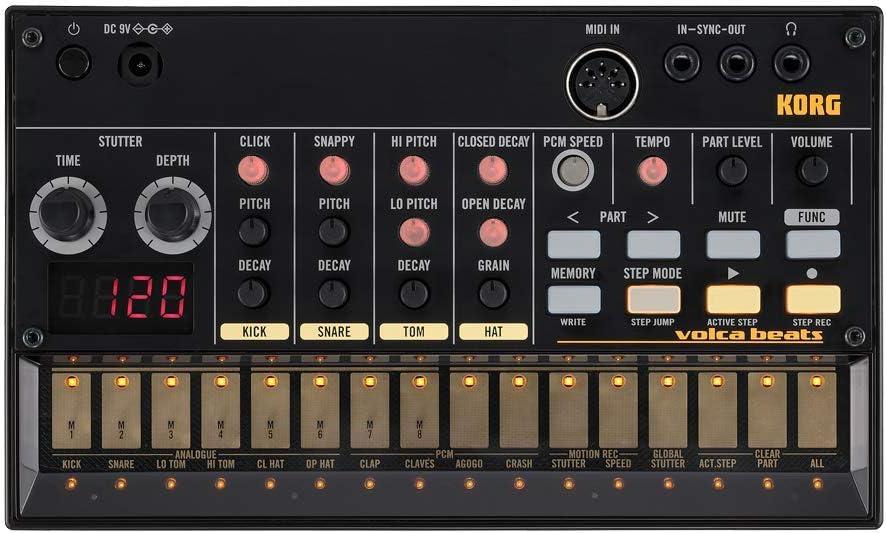 KORG コルグ - アナログ リズムマシン volca beats + volca rack + ACアダプター KA350 セット