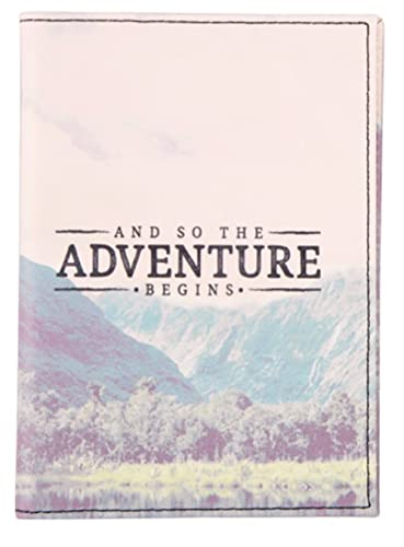 """And So The Adventure Begins"" Passport Holder - Sass & Belle Collection - Wanderlust Adventure"