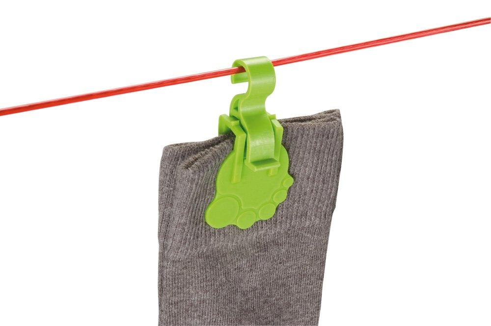 Polypropylene Wenko Socky Sock Clips Multi-Colour