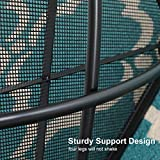 "MF 27"" Black and Green Mesh Table"