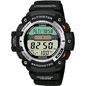 Casio Pro Trek Gents Altimeter/Barometer Strap Watch