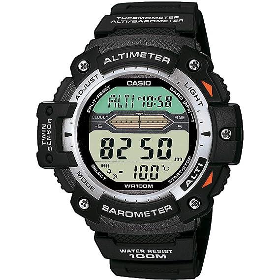 727061cd0775 Casio Reloj Digital para Hombre de Cuarzo con Correa en Resina  SGW-300H-1AVER  Casio Collection  Amazon.es  Relojes