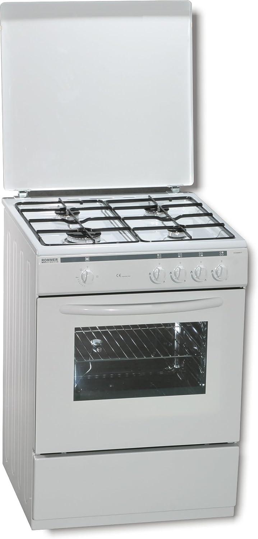 ROMMER VCH 460 - Cocina (Independiente, Color blanco, Giratorio ...