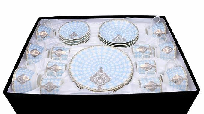 Amazon.com: Prestige juego de hostelería de porcelana 30 ...