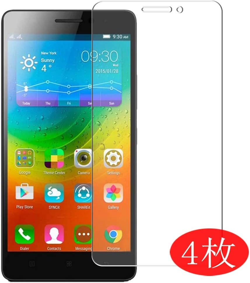 【4 Pack】 Synvy Screen Protector for Lenovo K3 Note K50 (K50-T5) 0.14mm TPU Flexible HD Clear Case-Friendly Film Protective Protectors [Not Tempered Glass] New Version