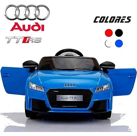 Bc Babycoches Coche Electrico 12 V Para Niños Licencia Oficial Audi