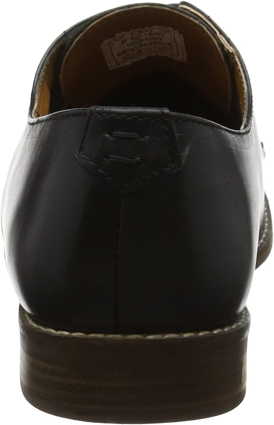 Red Tape Hopton Homme Chaussures Noir