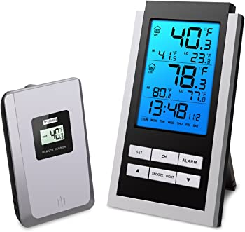 ORIA Indoor Outdoor Thermometer Digital Temperature Monitor