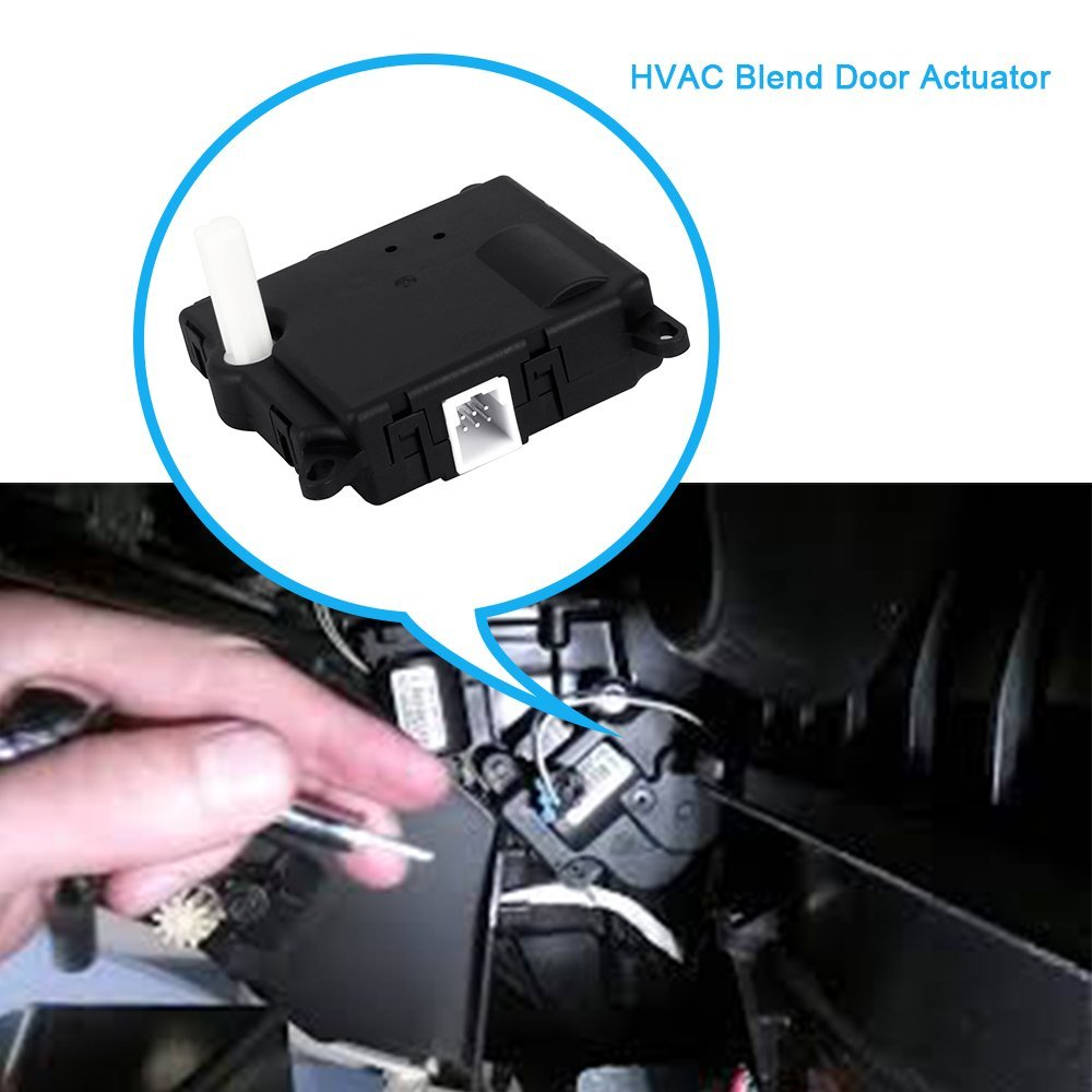 2002-2010 Ford Explorer 2003-2005 Lincoln Aviator /& Navigator HVAC Blend Door Actuator Replaces 1L2Z19E616BA 604-213 for 2003-2006 Ford Expedition
