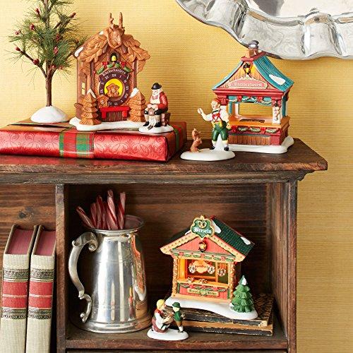 Department 56 Alpine Village Christmas Market Bratwurst Booth Set Accessory, Multicolor