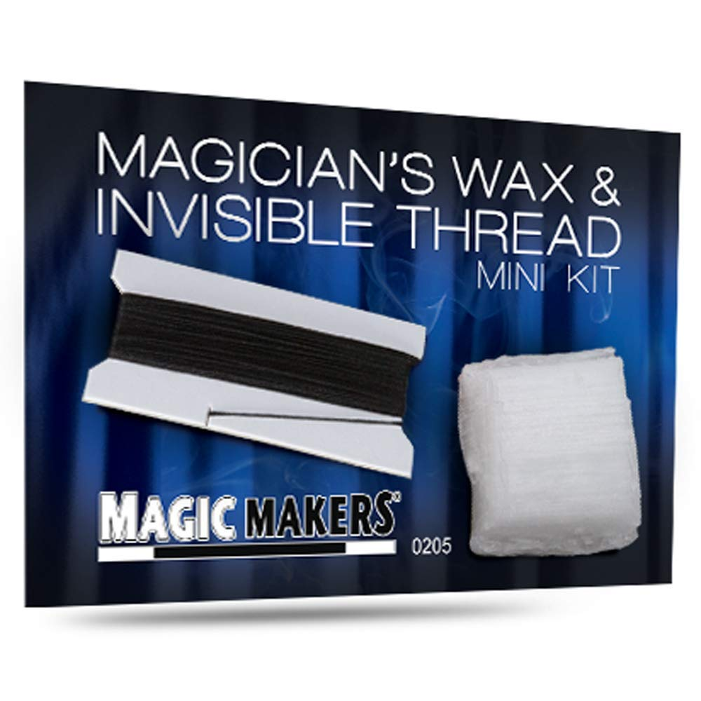 Magic Makers Invisible Thread and Wax Mini Kit