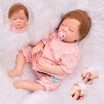 HONGRO DOLL Realistica Bambole Reborn,Fatte a Mano Bambola Ragazza