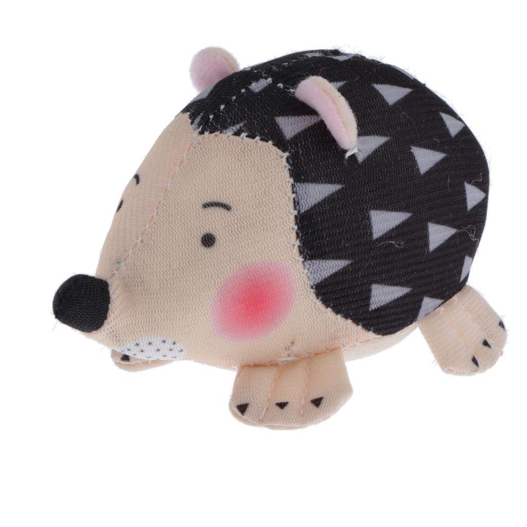 perfektchoice Novelty Hedgehog Pin Cushion Fabric Coated Fully Pincushions for Sewing and Needleworks