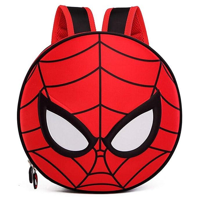 Mochila Escolar Para Niños Mochilas Para Adolescentes Spider-Man Para Niños Y Niñas Mochilas Escolares,Spiderman(black)-28 * 28 * 6cm: Amazon.es: Ropa y ...