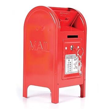 Rhode Island Novelty 7.5u0026quot; Metal Mailbox Bank
