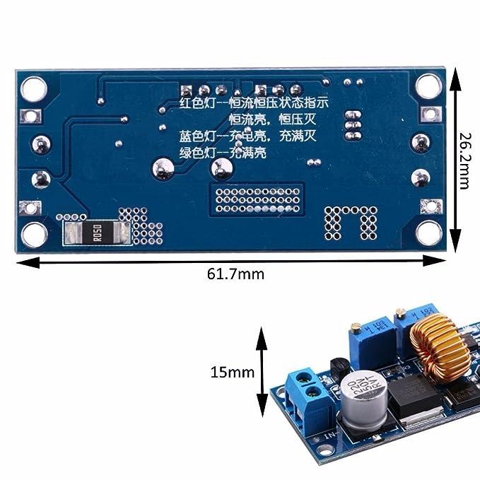 DC de de de DC Step Down Converter Voltaje de CC CV 4 - 38 V 1.25 - 36 V 12 V/24 V 5 A 75 W Buck De V De Regulador ...