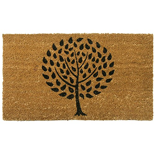 Rubber-Cal Modern Landscape Contemporary Doormat - 18 x 30 inches - Stylish Doormat