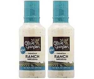Olive Garden Parmesan Ranch Dressing 473mL, 2 Bottles