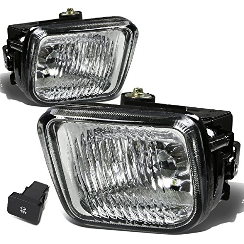 For Honda Civic Driving Bumper Fog Light+Bulbs+Switch (Clear Lens) - 6th Generation EJ EM EK D16