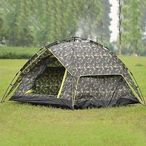 WZH Automatische Markise Zelt offen Familie im freien camping Zubehör Camo doppelte Geschwindigkeit und 3-4