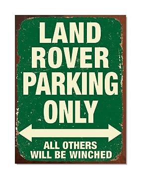Landrover Defender design métal signe 30 cm x 40 cm