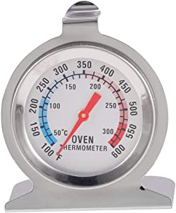 Licini Stainless Steel Food Meat Temperature Classic Stand Up Dial Oven Thermometer Gauge Gage Cooker Thermometer