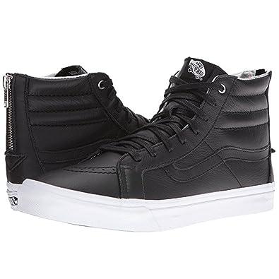 f54d7f0725 Image Unavailable. Image not available for. Color  Vans Men s Sk8 Hi Slim  (Hologram) Zip Skateboarding Shoes ...
