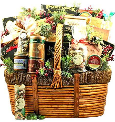 The Grandest Celebration Gourmet Food Holiday Gift Basket - Size Deluxe by Gifts to Impress