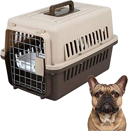 C&L Transportín para Mascotas, Perro, Perro, avión de Aire, Caja de Transporte Transpirable para Gatos, Perros, Mascotas, Gatos y Perros pequeños: Amazon.es: Hogar