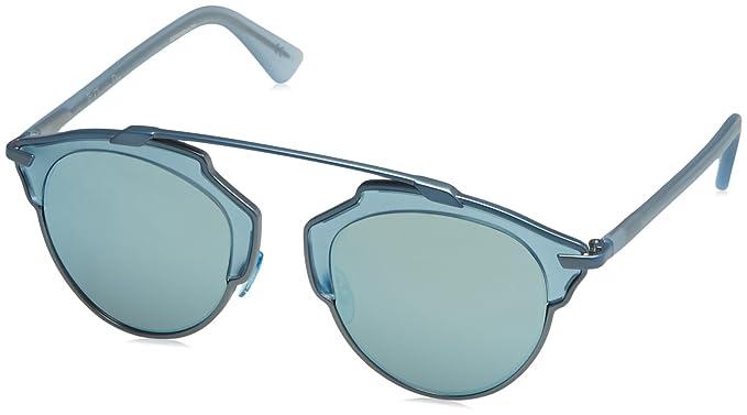Amazon.com: Dior RMJ mate Luz Azul Soreal Oval anteojos de ...