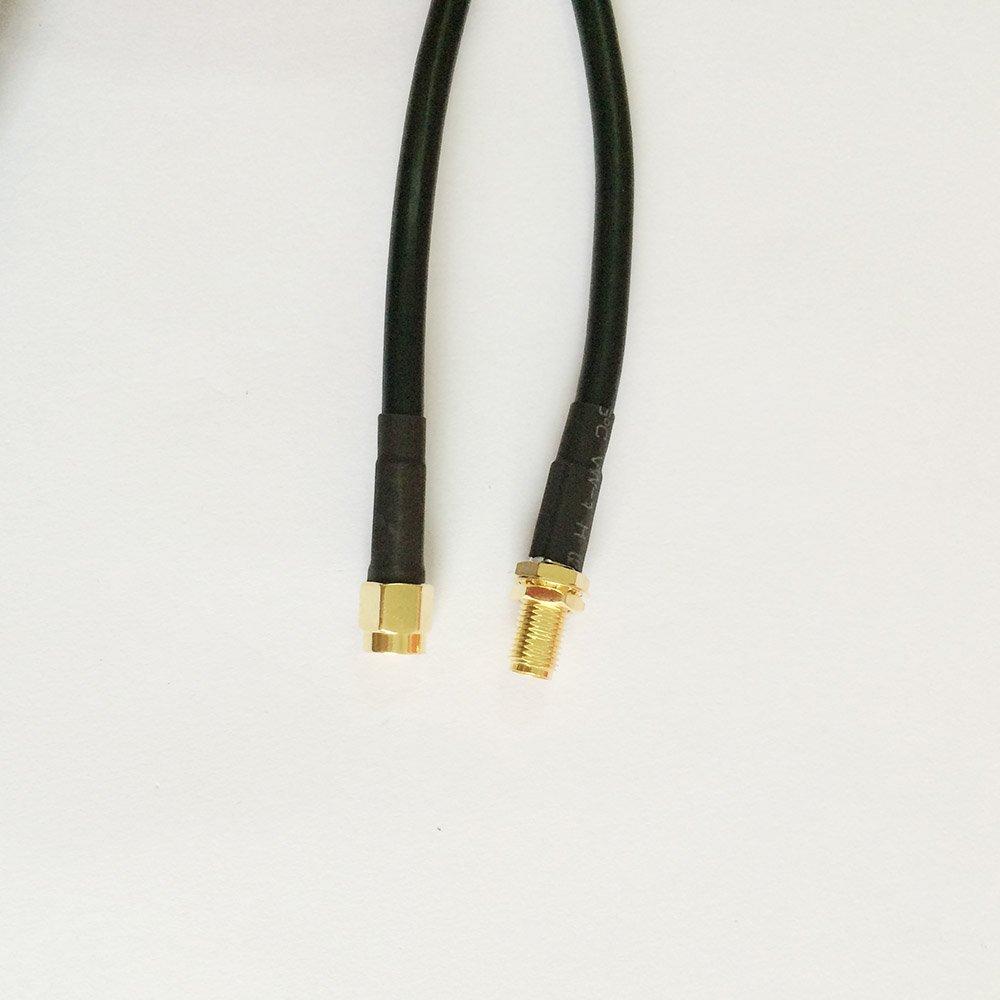 Allishop Rf Koaxial Pigtail Kabel 50 Cm Rg58 Sma Weiblich Mutter Teplon Blukhead Zu Mnnlich Audio Hifi