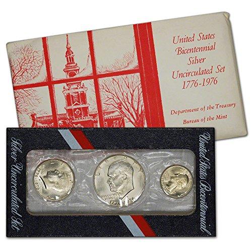 Silver Bicentennial Uncirculated Holiday Envelope