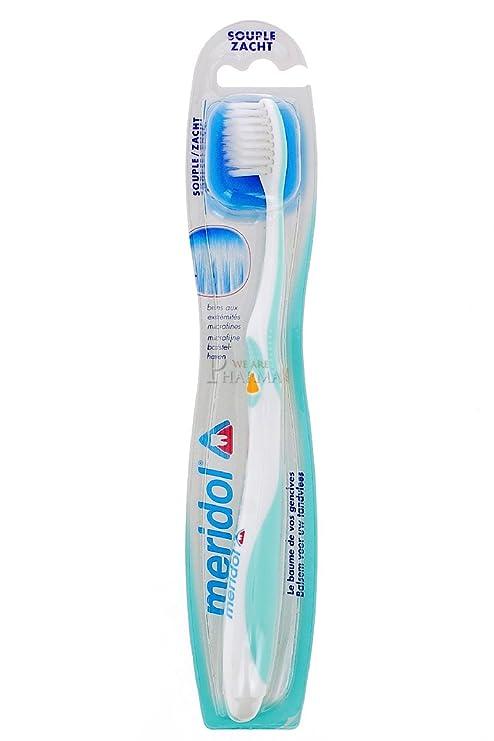 Meridol flexible y cilíndrico para cepillos de dientes