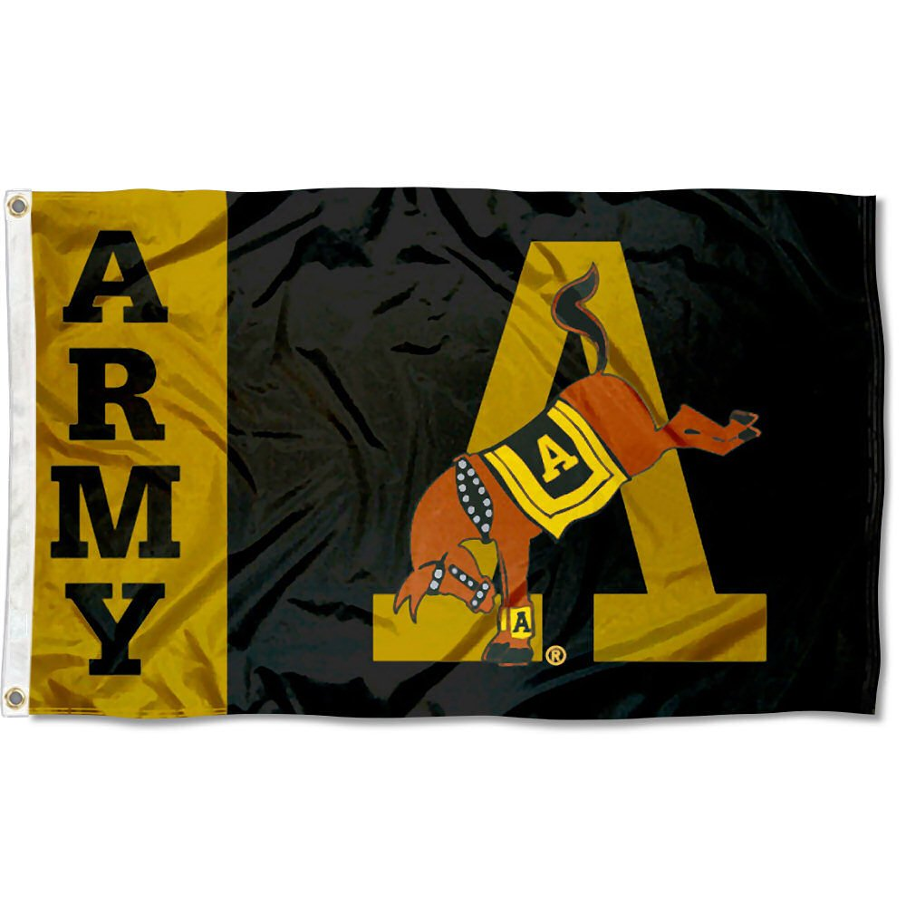 West Point Mule Army Black Knights University Large College Flag