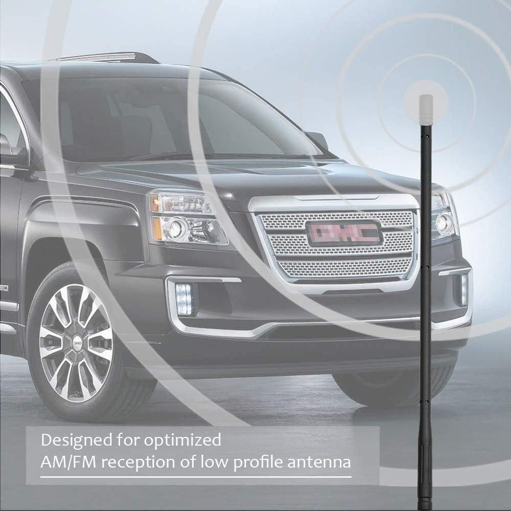 - for 2007-2019 Chevy Silverado//Suburban KSaAuto 13 Inches Gmc Sierra//Yukon//Denali 2-4 Days Copper Coil Good Reception Antenna