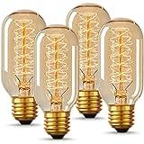 Vintage Style Copper Base Retro Globe Bulb Lionhouse Dimmable Edison Lamp Copper, 40W Filament
