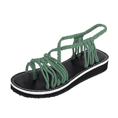 Men's Sandals Men's Shoes Slip On Shoes Rope Espadrilles Slides Mens Sandals 2018 Summer Outdoor Designer Woven Fisherman Slippers Flat Casual Fashion