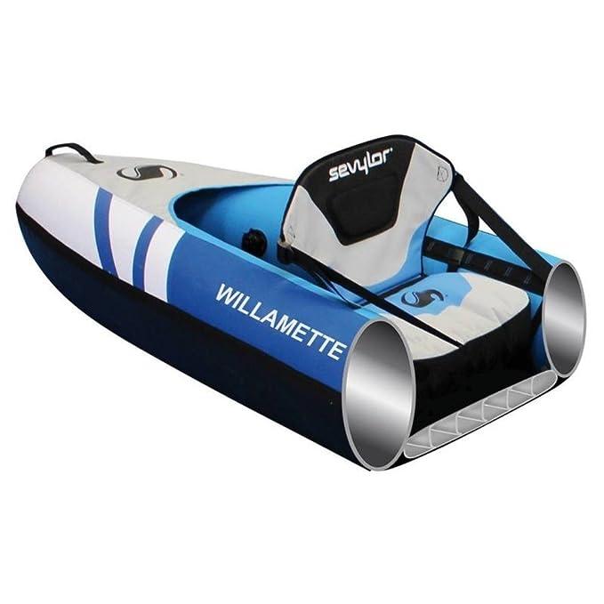 Sevylor Willamette - Canoa Hinchable de 3 plazas, Azul/Gris ...