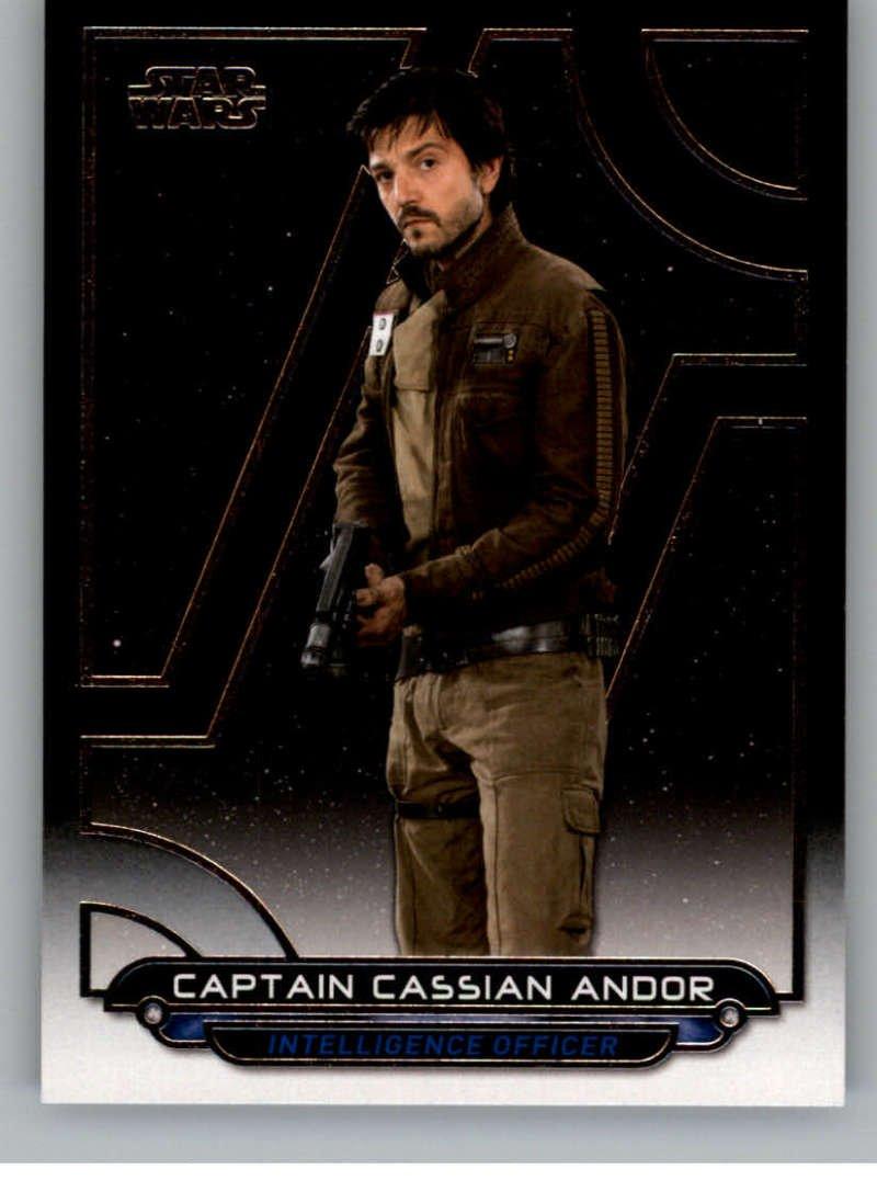 2017 Topps Star Wars Galactic Files Reborn #RO-2 Captain Cassian Andor