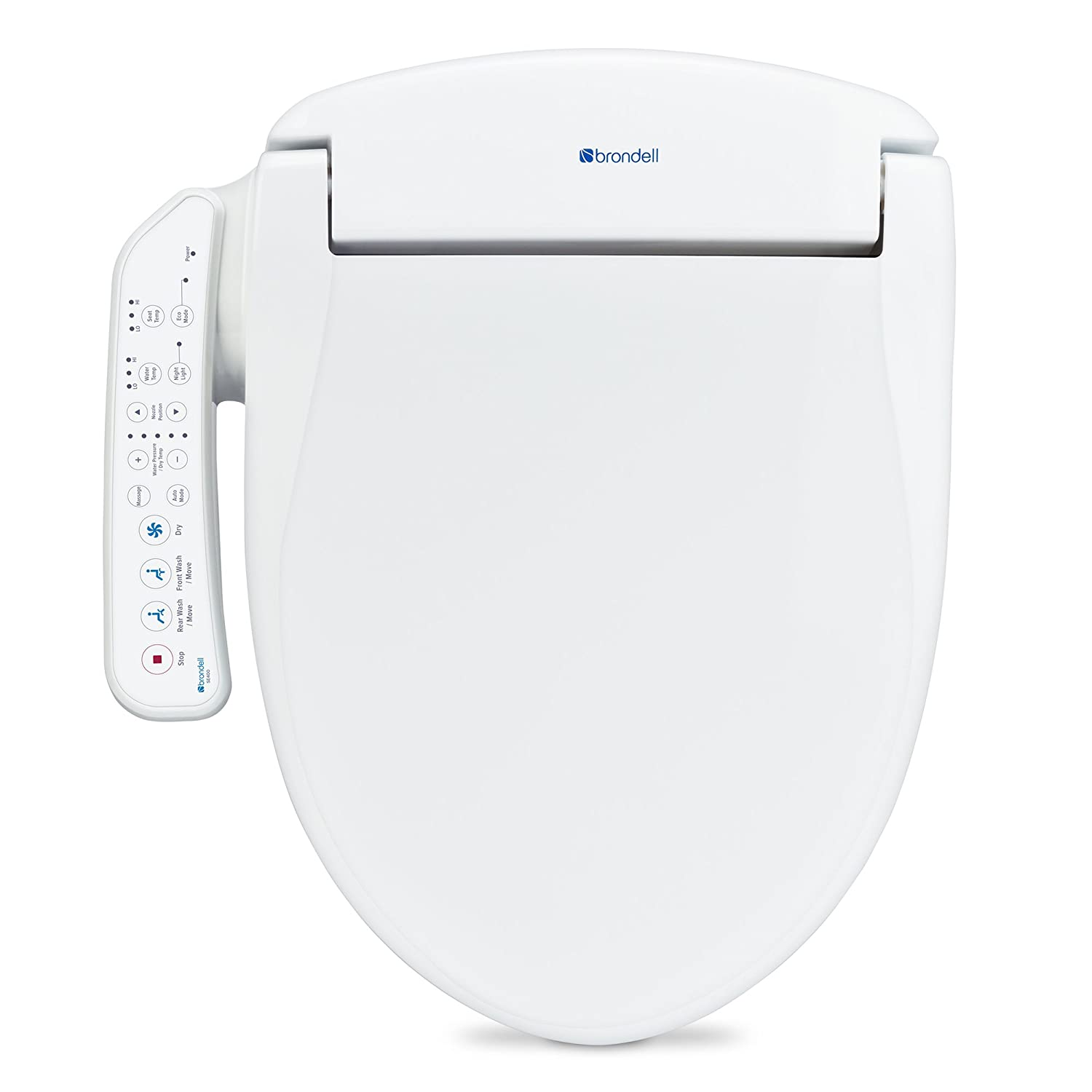 Brondell Swash SE400 Elongated Bidet Seat with Air Dryer and ...