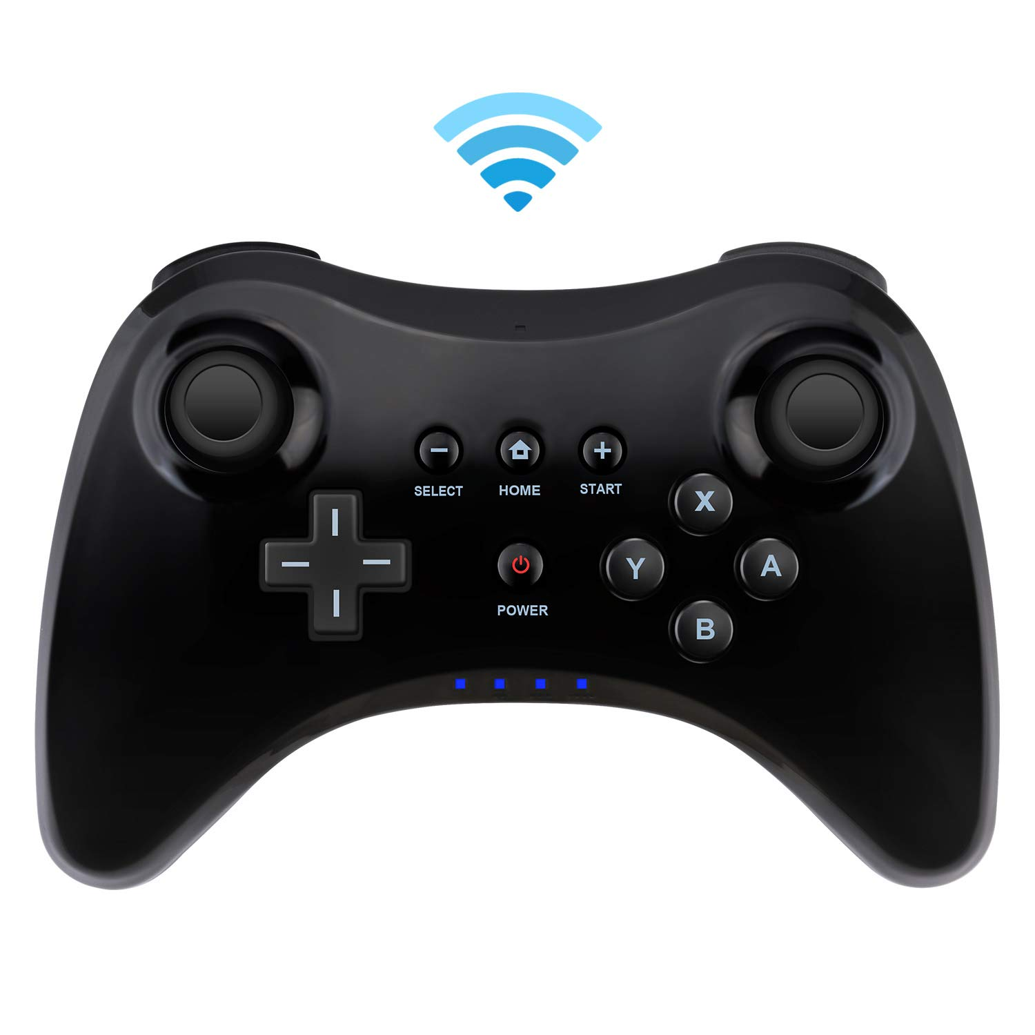 Controller for Wii U,Bigaint Wireless Pro Controller for Nintendo Wii U Dual Analog Game Controller by Bigaint
