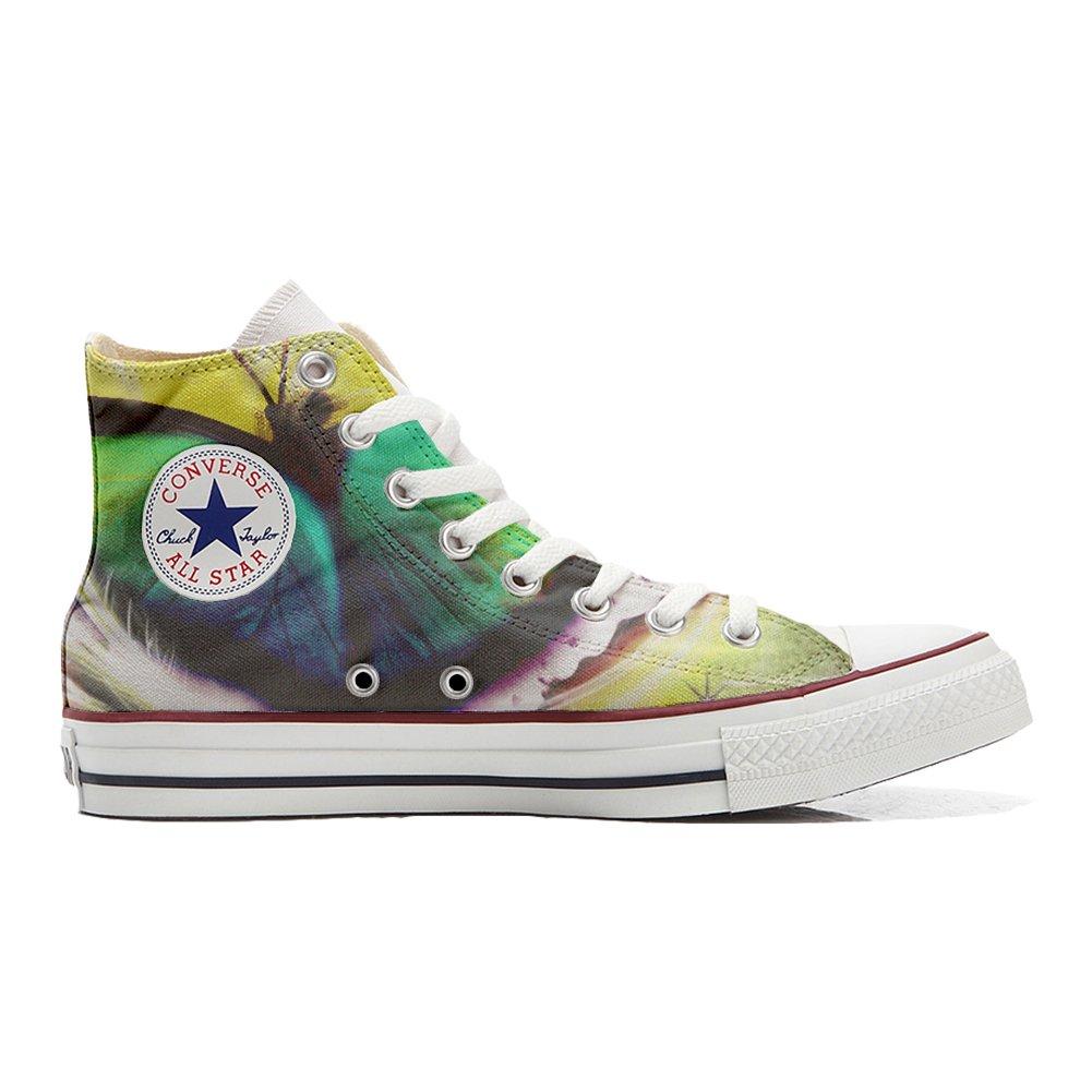 Converse All Star personalisierte Schuhe (Handwerk Produkt) Mariposa  32 EU