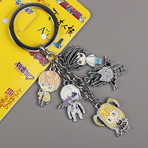 Japanese Anime Death Note Metal Toys Figure Pendant Keychain Key Ring