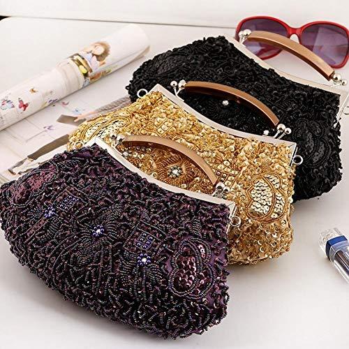 À Fête Paillettes Bandoulière Collar Soirée Boutique Sac Mariage Main tout Perles 4 Fourre De y Brillantes La Sacs Aqnq7wt0
