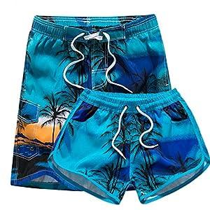 Black Star Swimwear Board Shorts Women Mens Boardshorts Surf Shorts Trunks Beach Quick Dry Short Men Shorts Blue XXXL