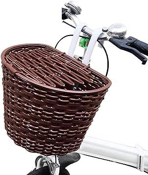 GPFDM Cesta Delantera para Bicicleta con Manillar - Cesta De ...