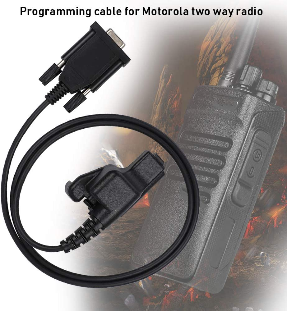Demeras Efficient Compatible Sturdy Programming Cable Durable Radio USB Cable Line for Walkie-Talkie
